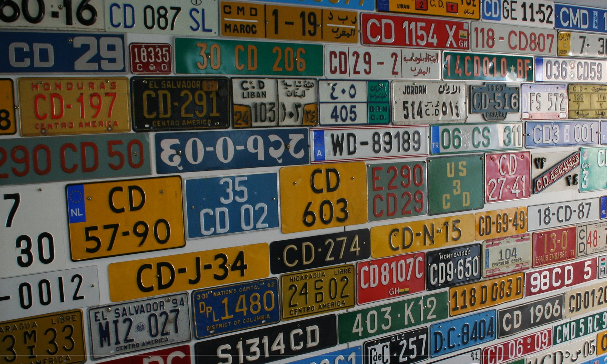 Diplomatic plates